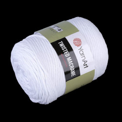 Priadza Twisted Macrame 3 mm, 500 g