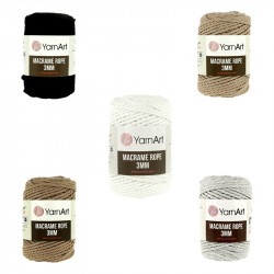YarnArt Macrame Rope 3 mm 250 g