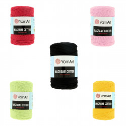 YarnArt Macrame Cotton 2 mm 250 g